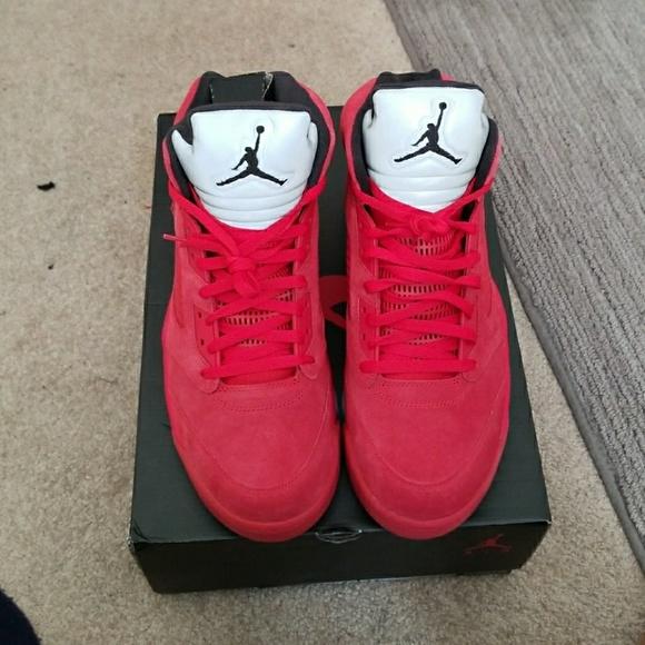 Jordan Shoes | Jordan 5s Red Suede